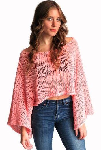 Knitting pattern for easy Yucatan Sweater