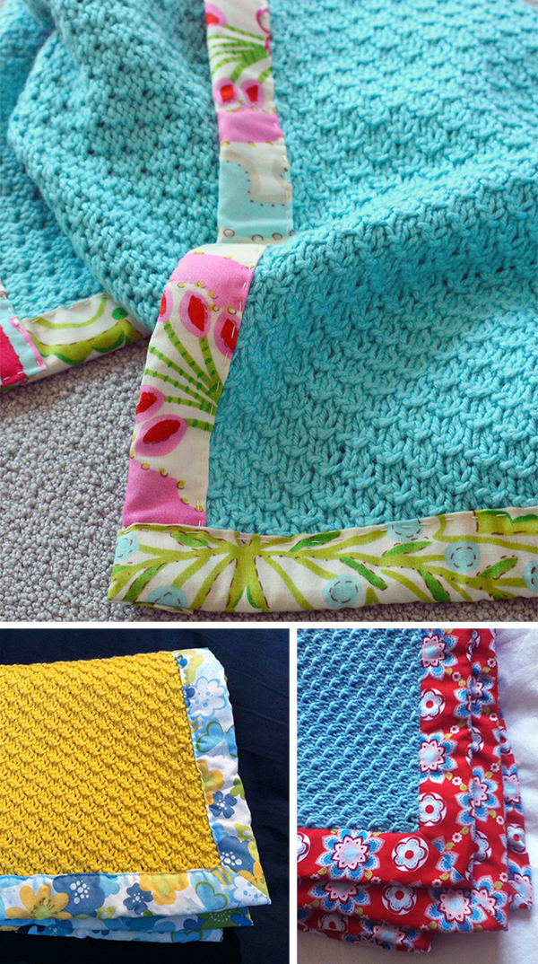Knitting Pattern for 4 Row Repeat Zarzuela Baby Blanket