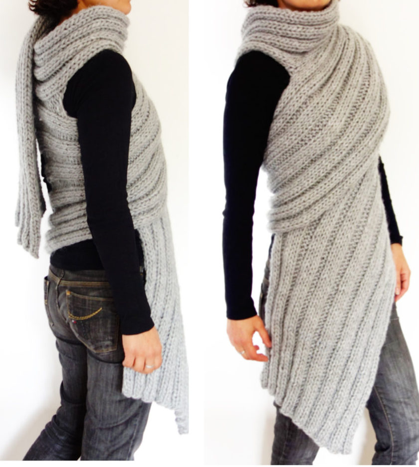 Super Scarf Knitting Patterns In The Loop Knitting