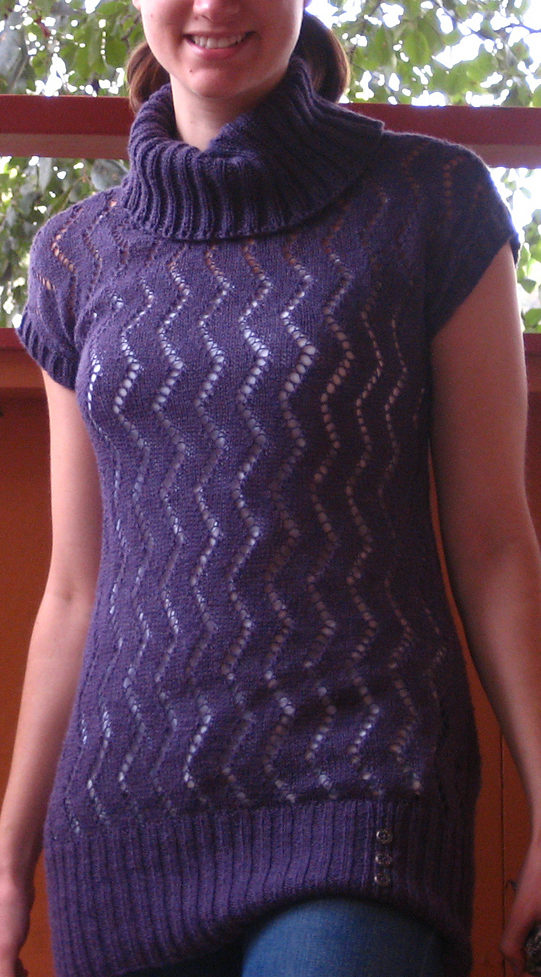 Knitting Pattern for Zickzack Tunic