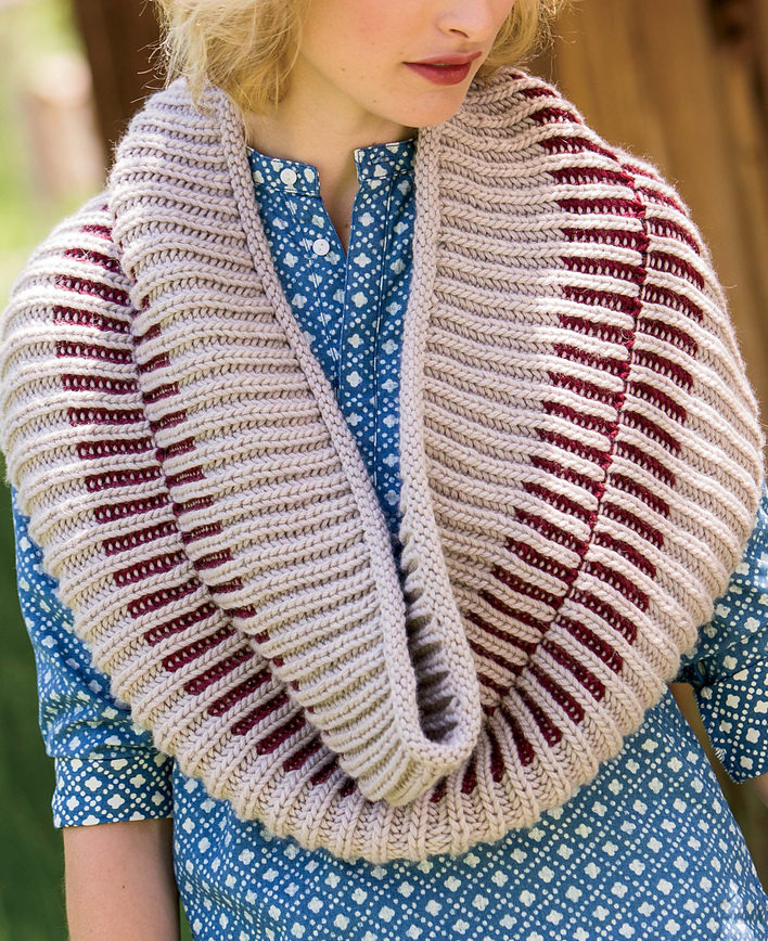 Knitting Pattern for Zipper Cowl