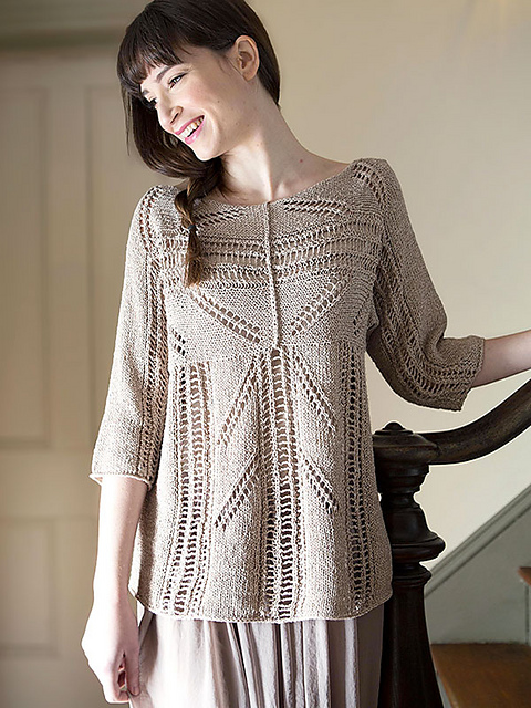Zircon Lace Pullover