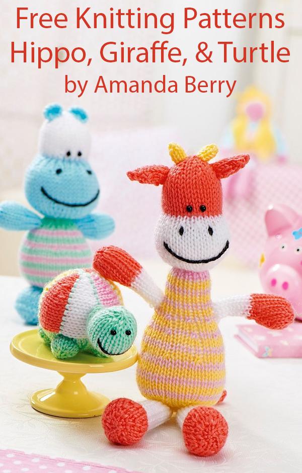 Knit Amigurumi Dog Toy Sofites Free Knitting Patterns | 940x600