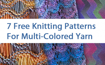 Multi-colored Yarn Free Knitting Patterns