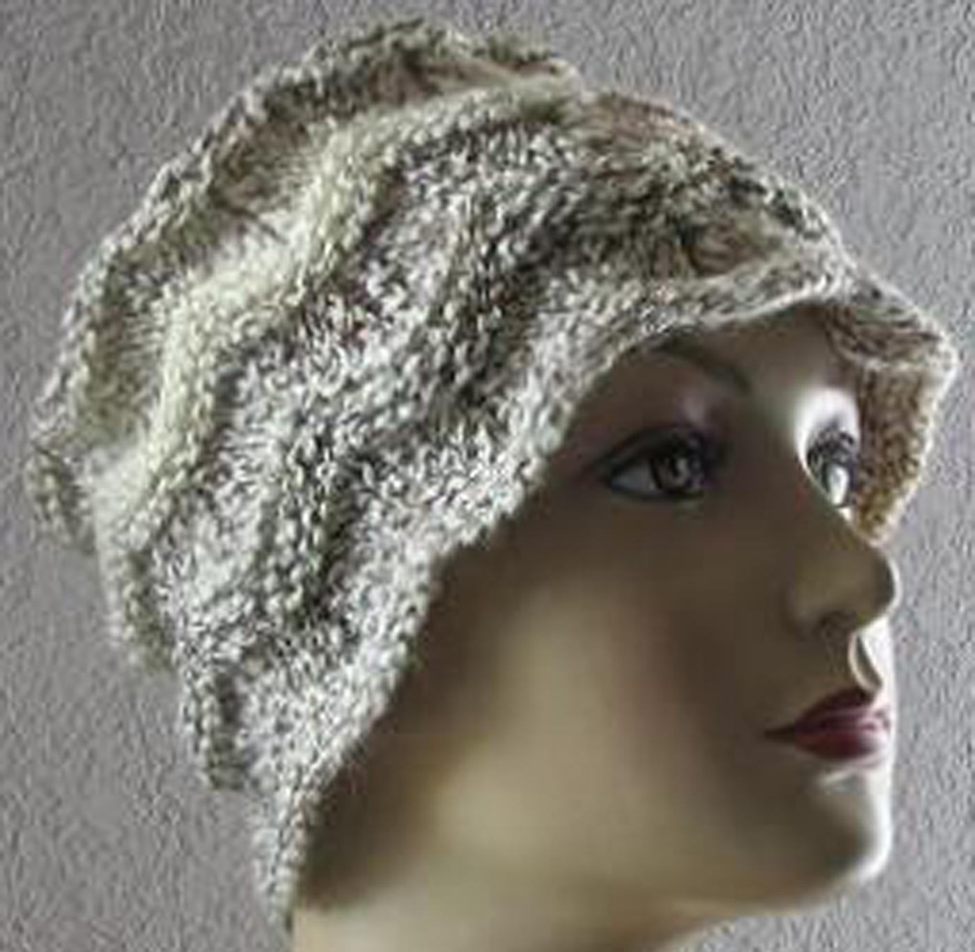 Chevron Hat Free Knitting Pattern