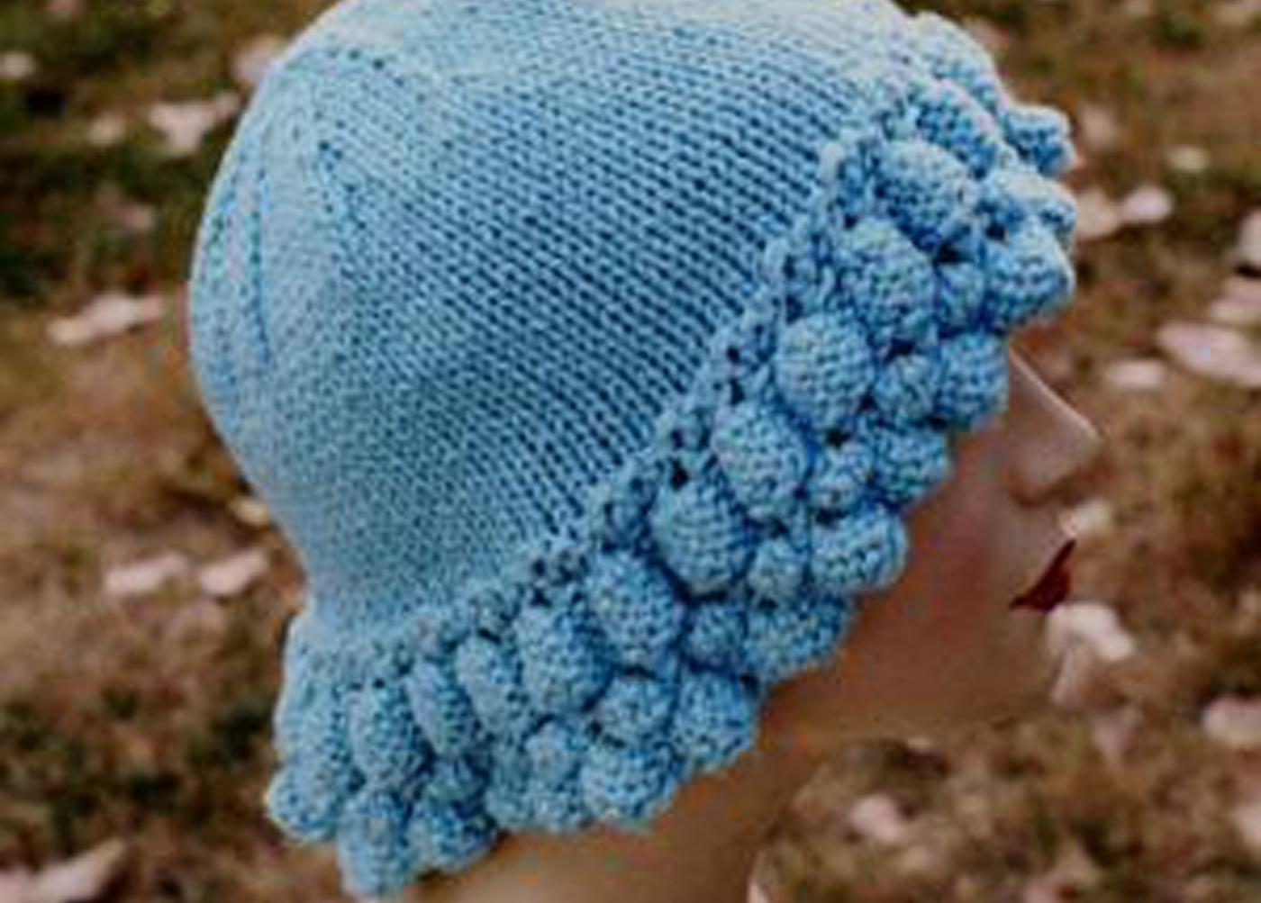 Cascade Hat Free Knitting Pattern