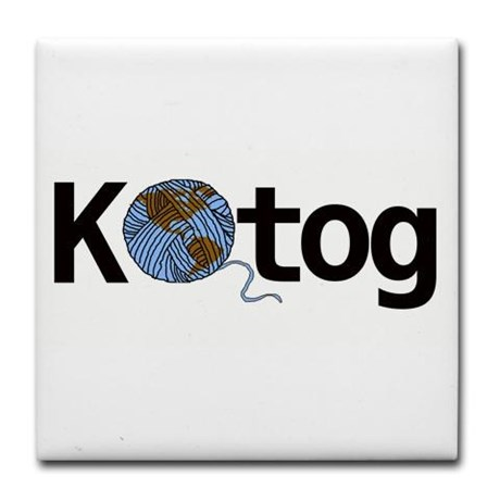 Knit the World Together |Available on bumper stickers, tshirts, coasters, more | Knitting Humor at http://intheloopknitting.com/knitting-humor/#ktog