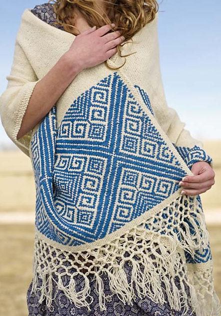 Knitting Pattern for San Cristobal Shawl