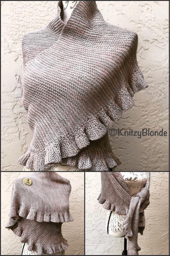 Knitting Pattern for Jennys Shawl