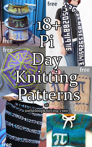 Pi Day Knitting Patterns
