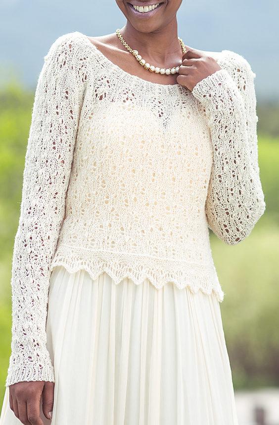 Knitting Pattern for Brambling Topper