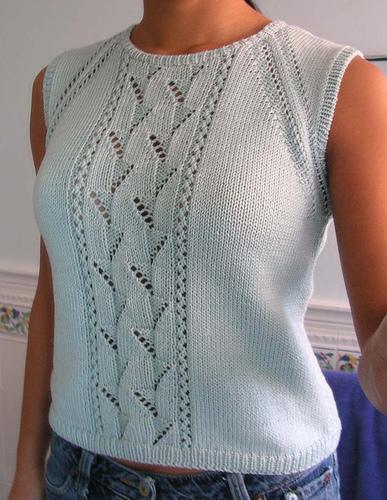 Tops Tanks Tees Knitting Patterns In The Loop Knitting