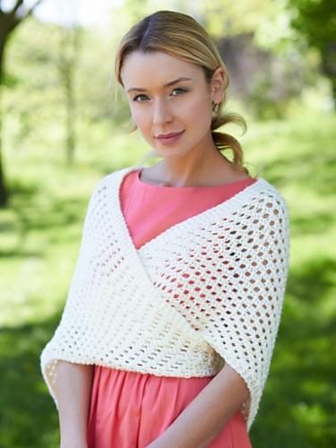 Knit Triangular Shawl Free Knitting Pattern | Free Shawl and Wrap Knitting Patterns at www.terrymatz.biz/intheloop