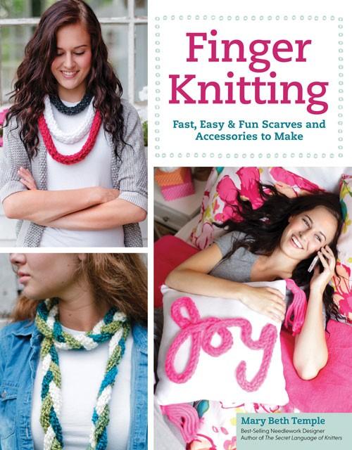 Finger Knitting | Jewelry Knitting Patterns, many free patterns, at http://intheloopknitting.com/jewelry-knitting-patterns/