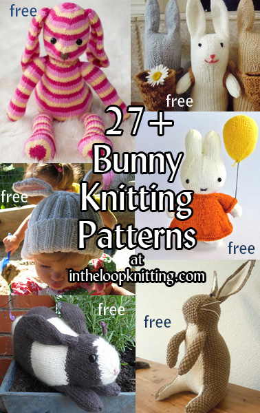 Bunny Rabbit Knitting Patterns