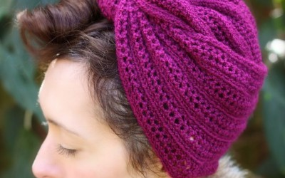 Knitting Patterns For Turban Hats : Hats In the Loop Knitting