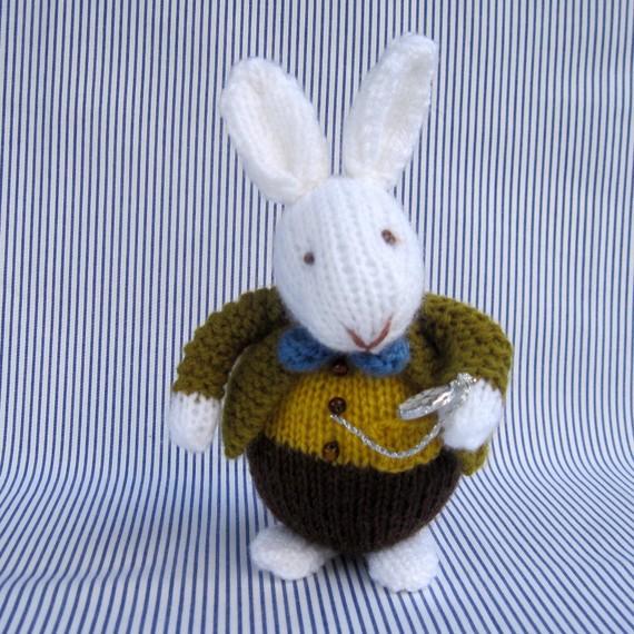 White Rabbit Knitting Pattern