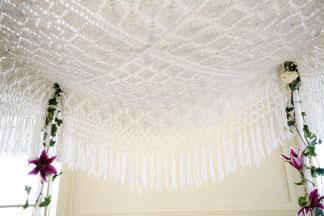 Knit Lace Chuppah
