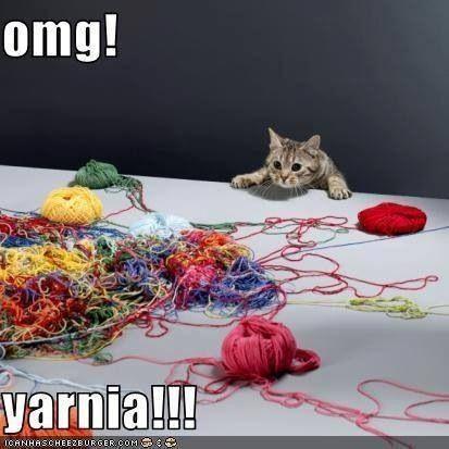 Yarnia! See more knit wit at www.terrymatz.biz/intheloop/knitting-humor