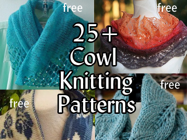 Cowl Knitting Patterns Featured