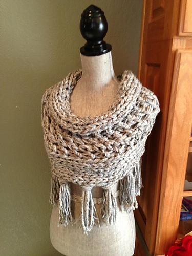 Gray 3-Strand Cowl Free Knitting Pattern and more free cowl knitting patterns at http://intheloopknitting.com/cowl-knitting-patterns/