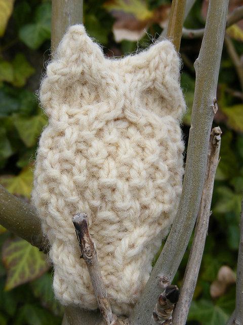 PDF Knitting Pattern 'Oisin Owl'