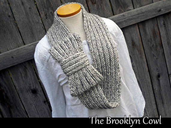 Brooklyn Cowl Knitting Pattern and more cowl knitting patterns, including many free patterns at intheloopknittging.com