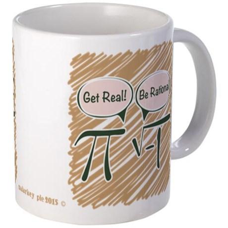 Pi Rational Irrational Mug