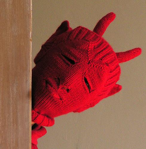 Bokaclava Hat Free Knitting Pattern and more fun hat knitting patterns