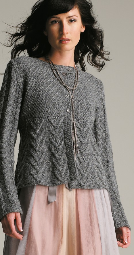 Free Knitting Cardigan Patterns : Cardigan Sweater Knitting Patterns In the Loop Knitting