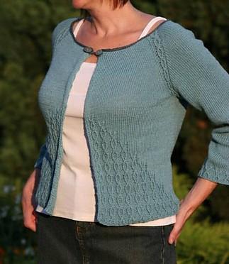Free knitting pattern of Dawn Cardigan