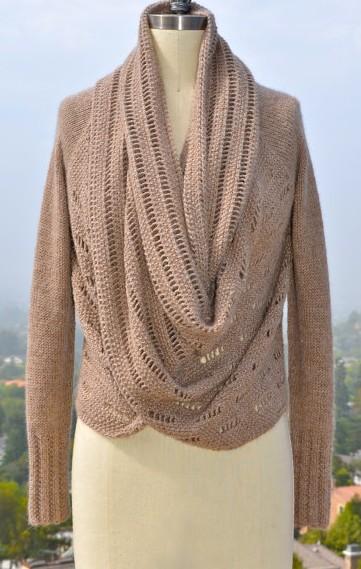 Knitting Pattern Loopy Cardigan : Cardigan Sweater Knitting Patterns In the Loop Knitting