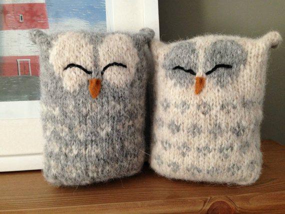 Love Owls Knitting Pattern