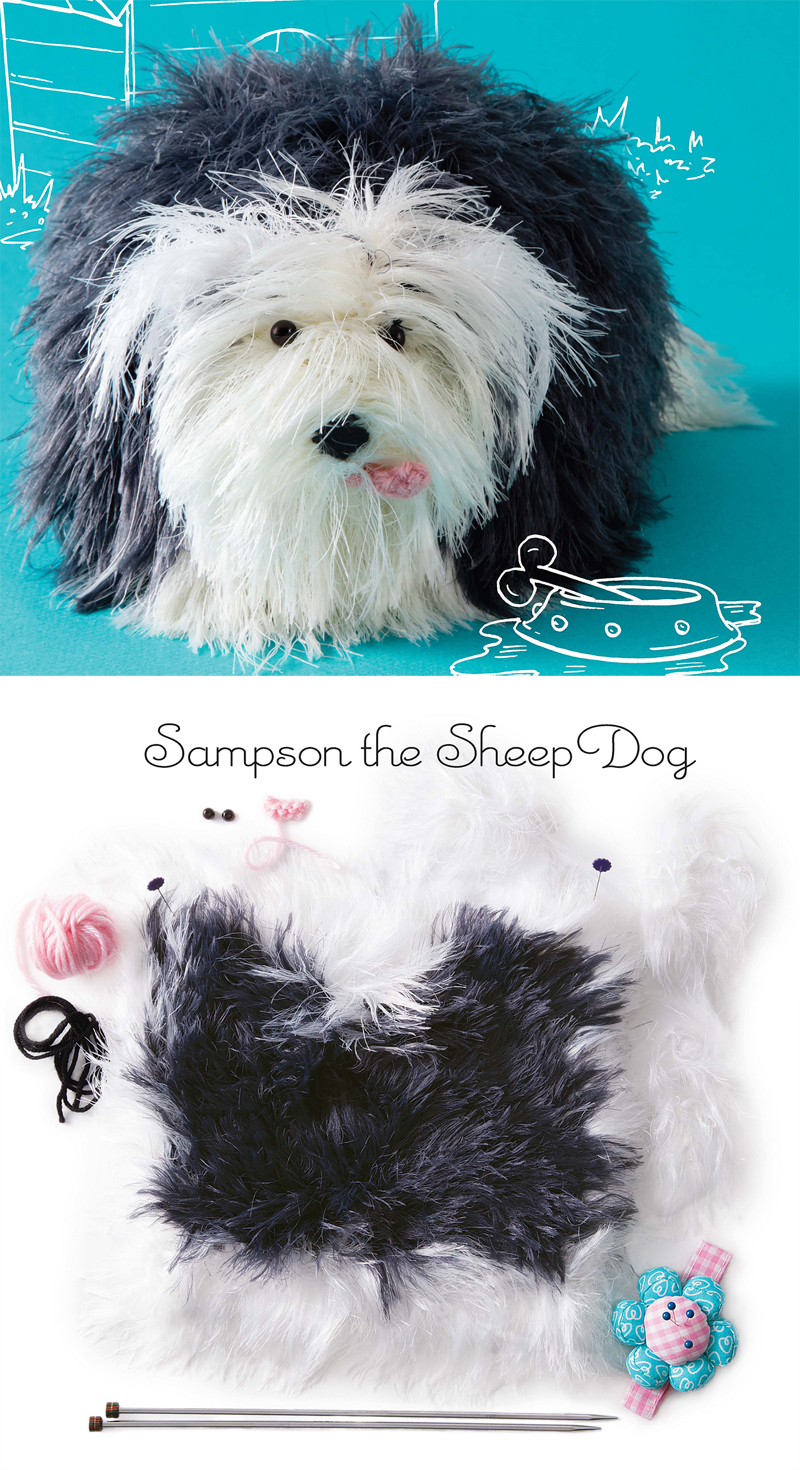 Dog knitting patterns in the loop knitting knitting pattern for sheepdog knit from a square bankloansurffo Images