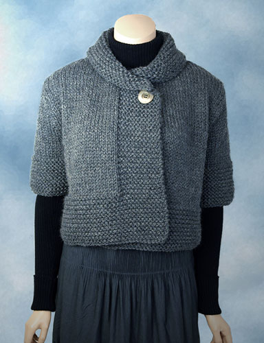 Cropped Cardigan Knitting Patterns In the Loop Knitting