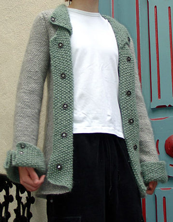 Free Knitting Pattern for Revolution Jacket
