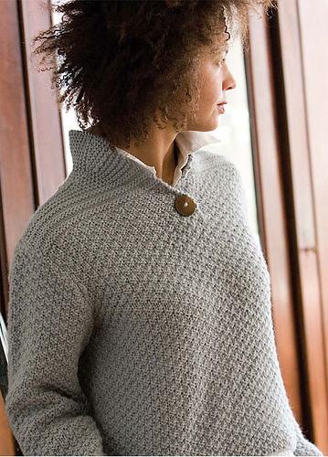 Notre Dame de Grace Pullover knitting pattern