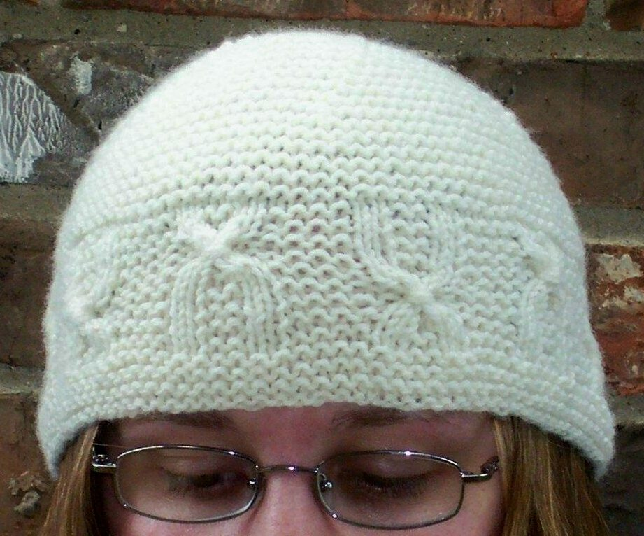 Free Knitting Pattern for Chromosome Cap