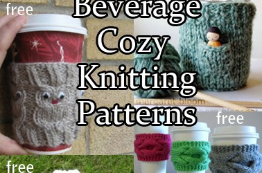 Beverage Cosy Knitting Patterns