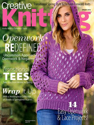 Knitting Magazines Free Patterns : Sleeveless Tops Knitting Patterns In the Loop Knitting
