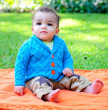 Knitting pattern for Gramps baby cardigan and more baby cardigan knitting patterns