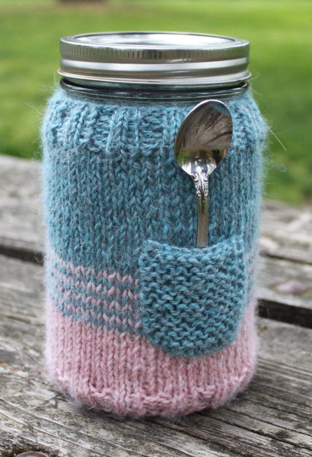 Knitting Pattern of Mason Jar Sweater