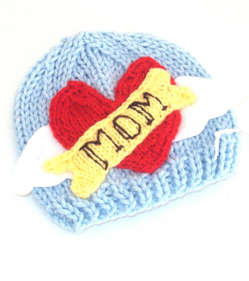 Knitting Pattern for Rocker Baby Hat