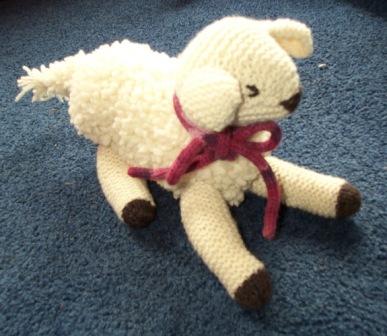Lamb Toy Free Knitting Pattern and more lamb and sheep knitting patterns