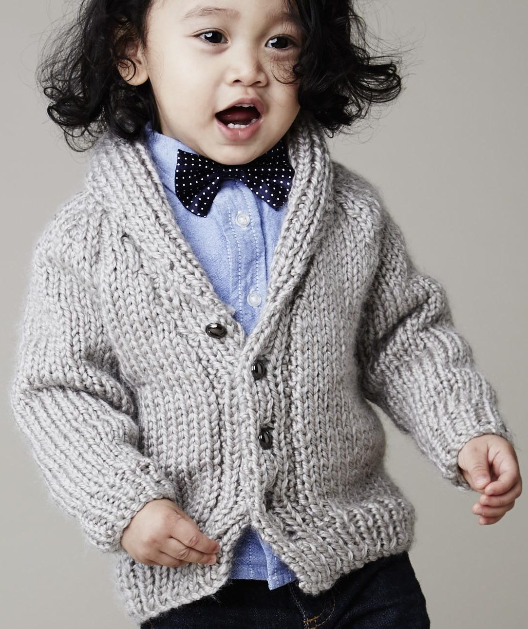 Relatively Baby Cardigan Sweater Knitting Patterns | In the Loop Knitting FK76