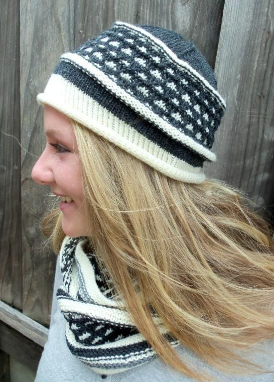 Free knitting pattern for Bea Hat and more beanie knitting patterns