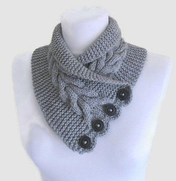 Neck Cowl Knitting Pattern : Neckwarmer Knitting Patterns In the Loop Knitting