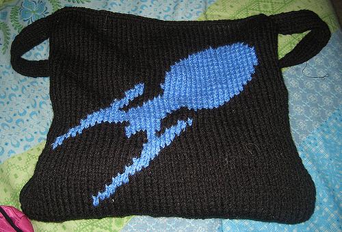 Free knitting chart for Enterprise E