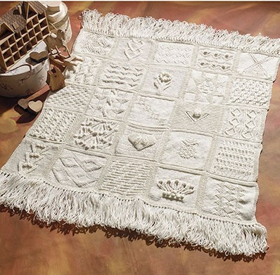 Sampler Knitting Patterns for Afghans, Accessories, and More In the Loop Kn...