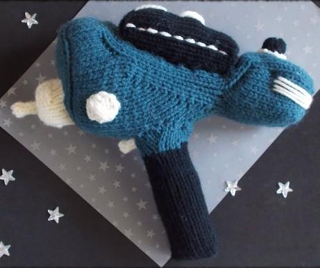 Knitting pattern for Star Trek phaser toy